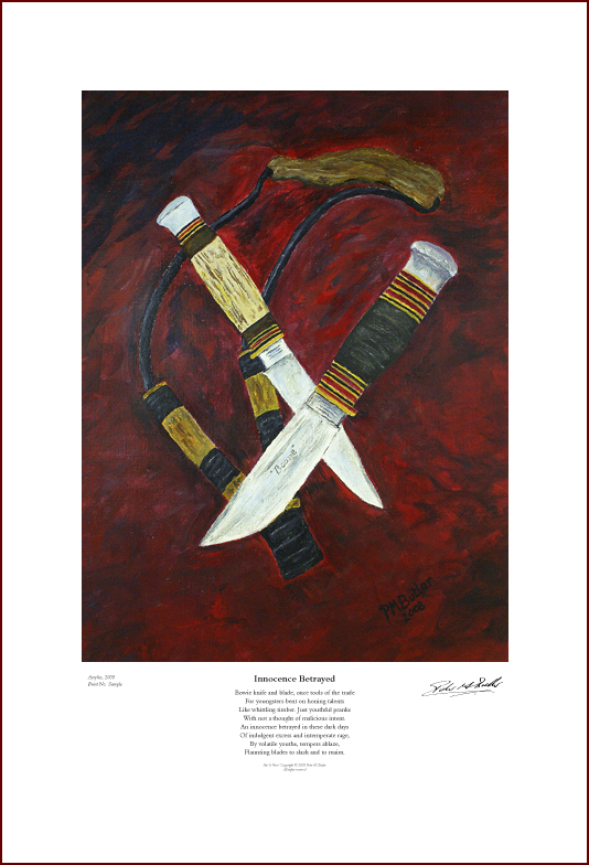 Still Life, Knives, Crime, Broken Society