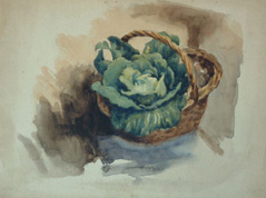 Watercolor by Frederick C Dickinson