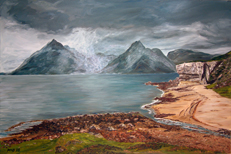 Paintings of Scotland, Highlands and Islands. Oils, Acrylics, Watercolors