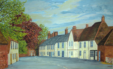 Paintings and poems - village life